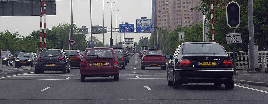 Groningen - A7 - Julianaplein - Gasunie