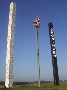Groningen, Anfahrt, Kartenturm und Joker