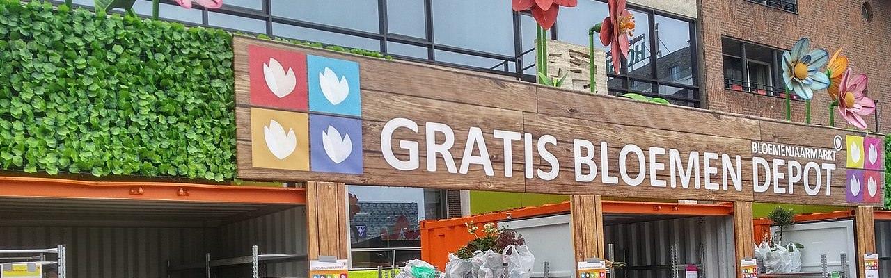 Groningen - Blumenmarkt - Depot