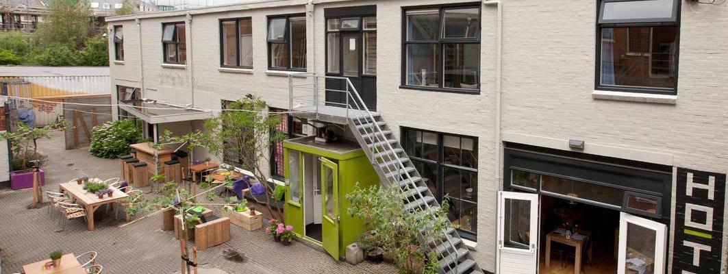 Groningen - Simplon Jongerenhotel - Eingang