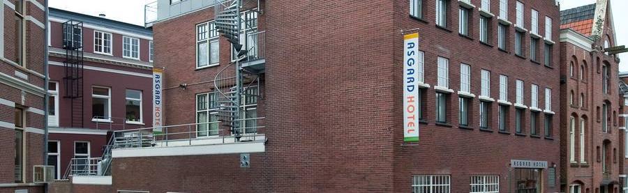 Groningen - Hotel Asgard - von außen