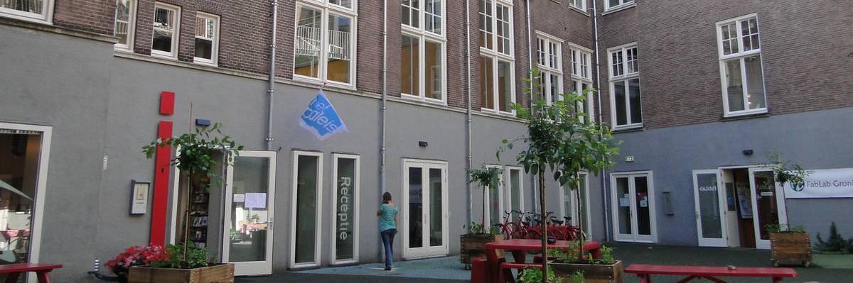 Groningen Hotel Het Paleis - Rezeption