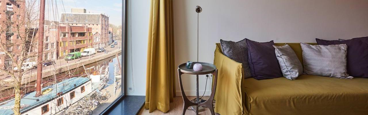 Groningen - Hotel Miss Blanche - Aussicht