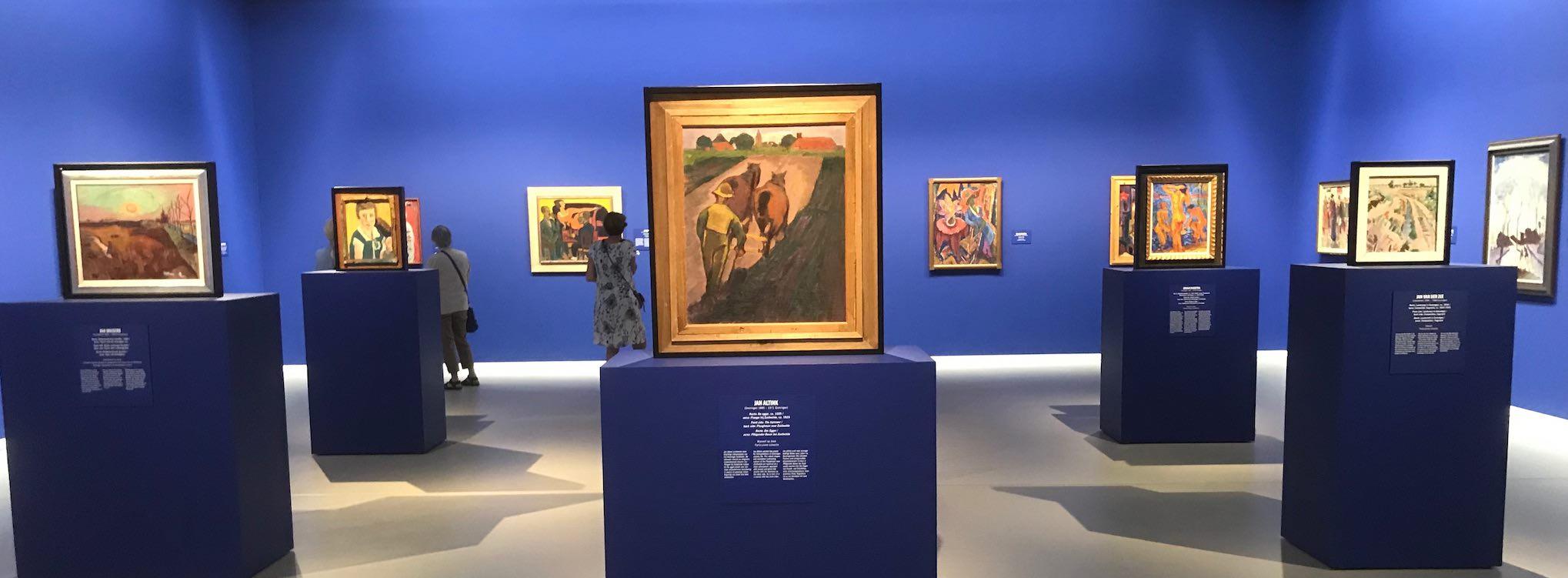 Groningen - Museum - Ausstellung De Ploeg