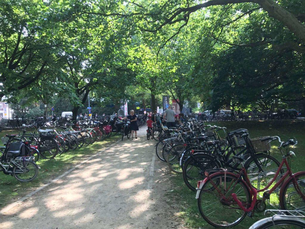 Groningen - Noorderzon - Fahrräder