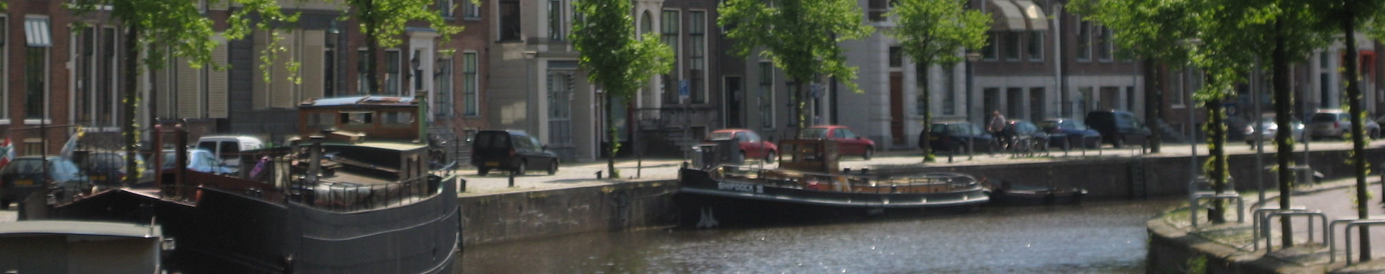 Groningen - Hoge der A - vanaf Vissersbrug