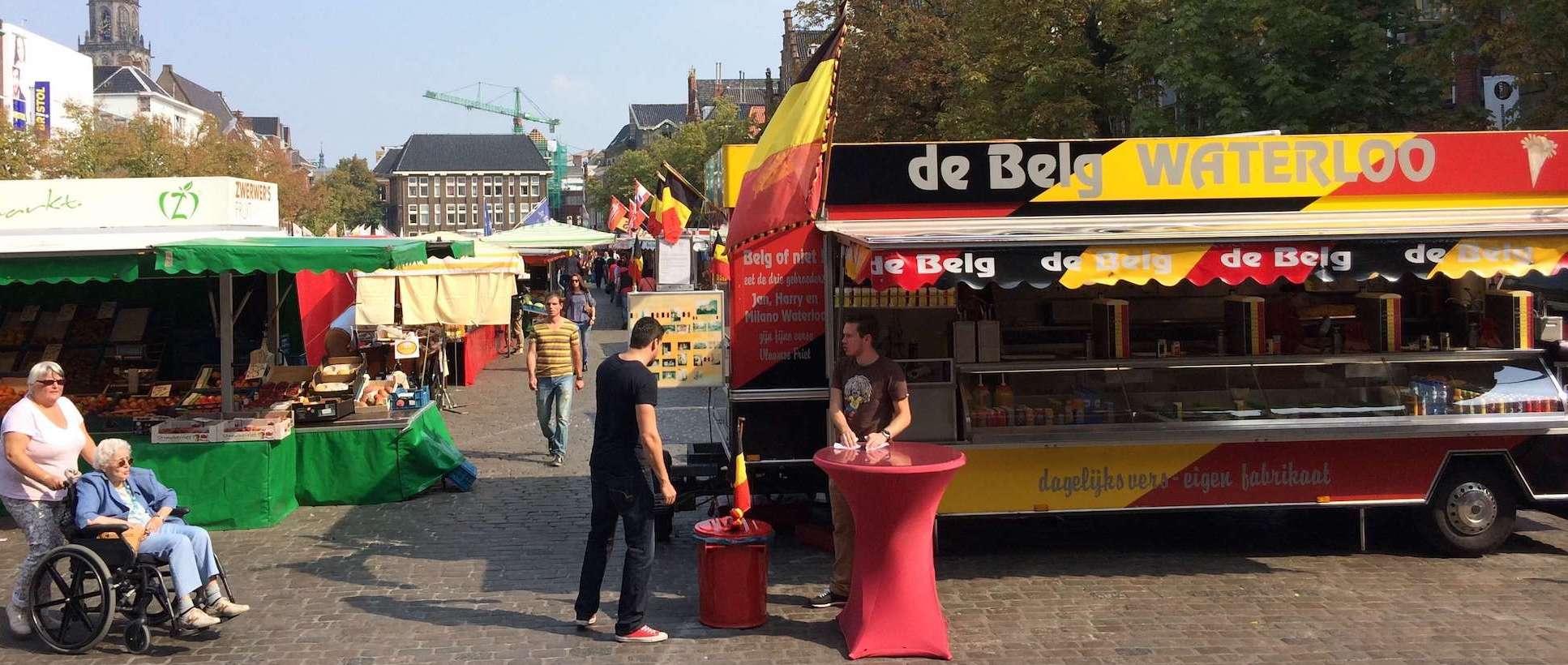 Groningen - Vismarkt - De Belg