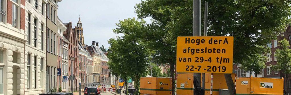 Groningen - Hoge der A gesperrt bis 22. Juli 2019