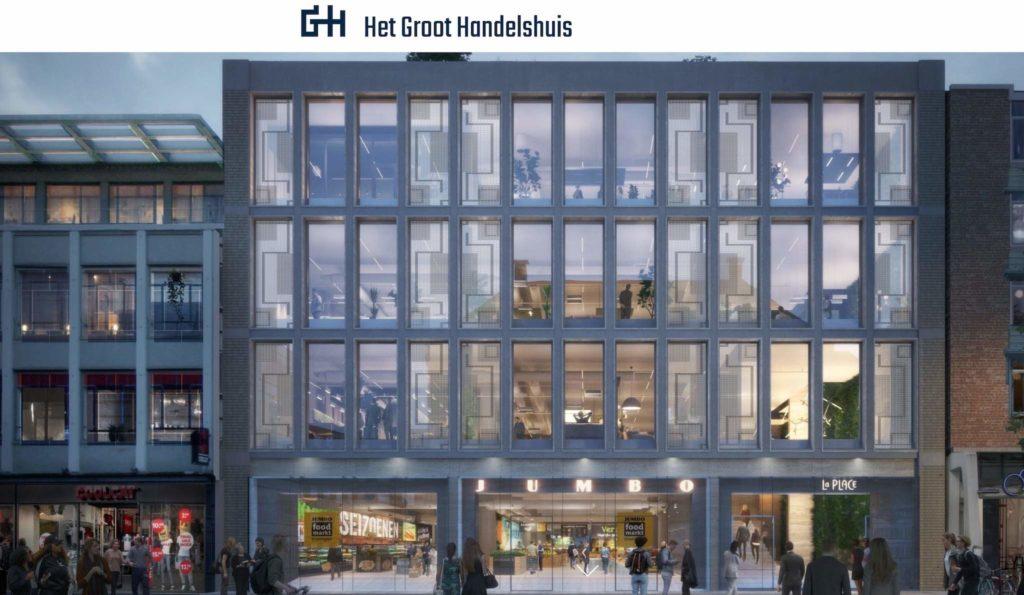 Groningen - Grote Markt - Het Groot Handelshuis