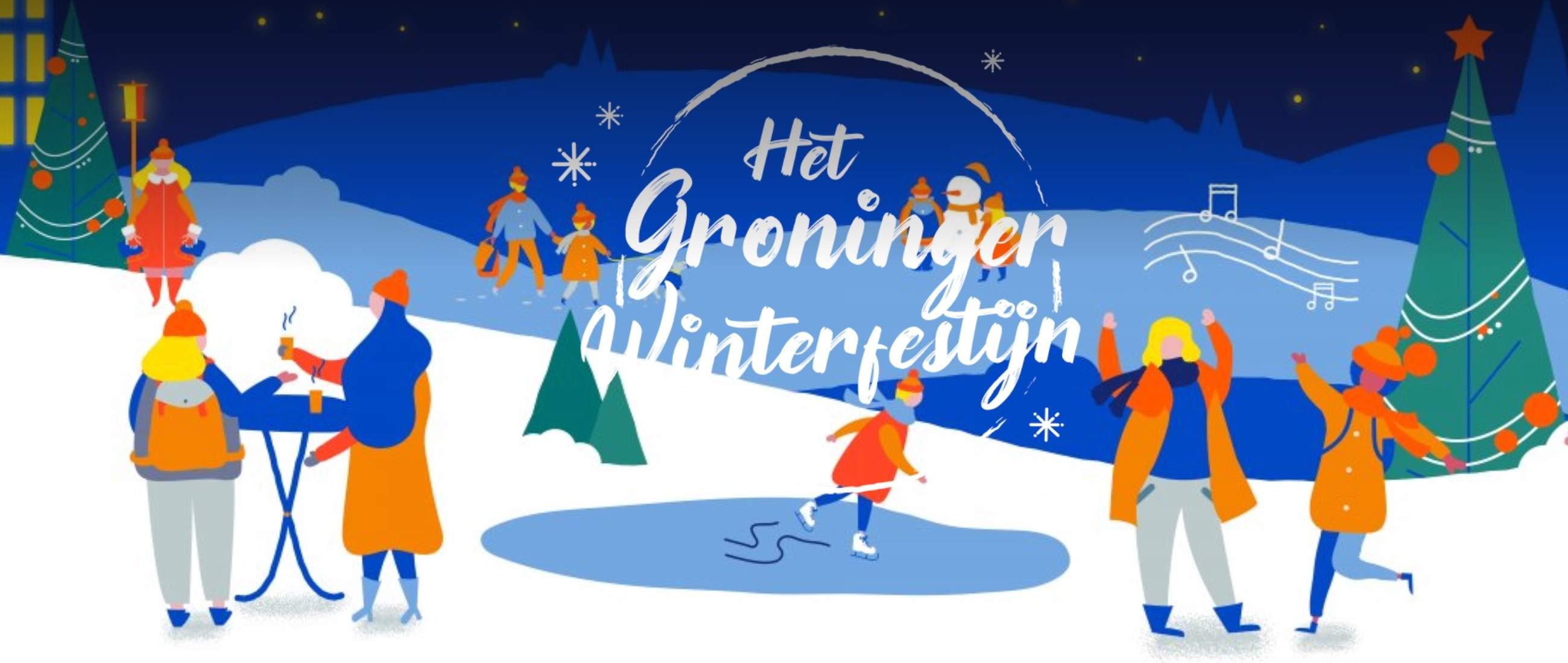 Groninger Winterfest 2019/2020 - Schlittschuhlaufen auf dem Grote Markt