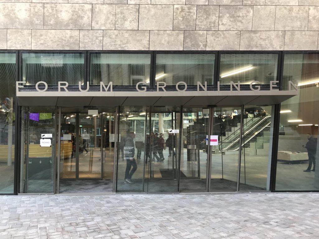 Forum Groningen - Eingang
