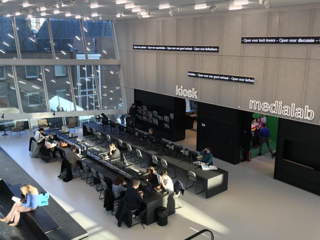 Forum Groningen - kiosk und medialab