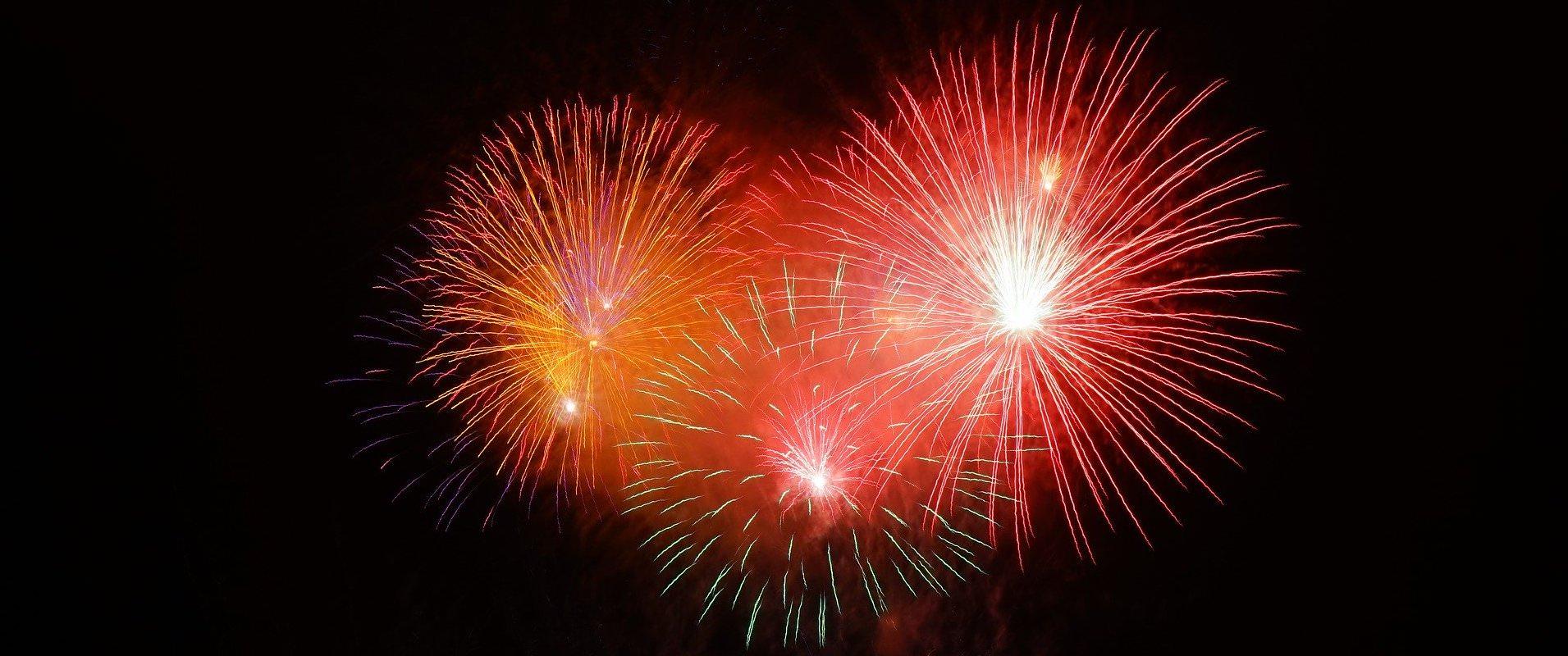 Feuerwerk - Silvester in Groningen