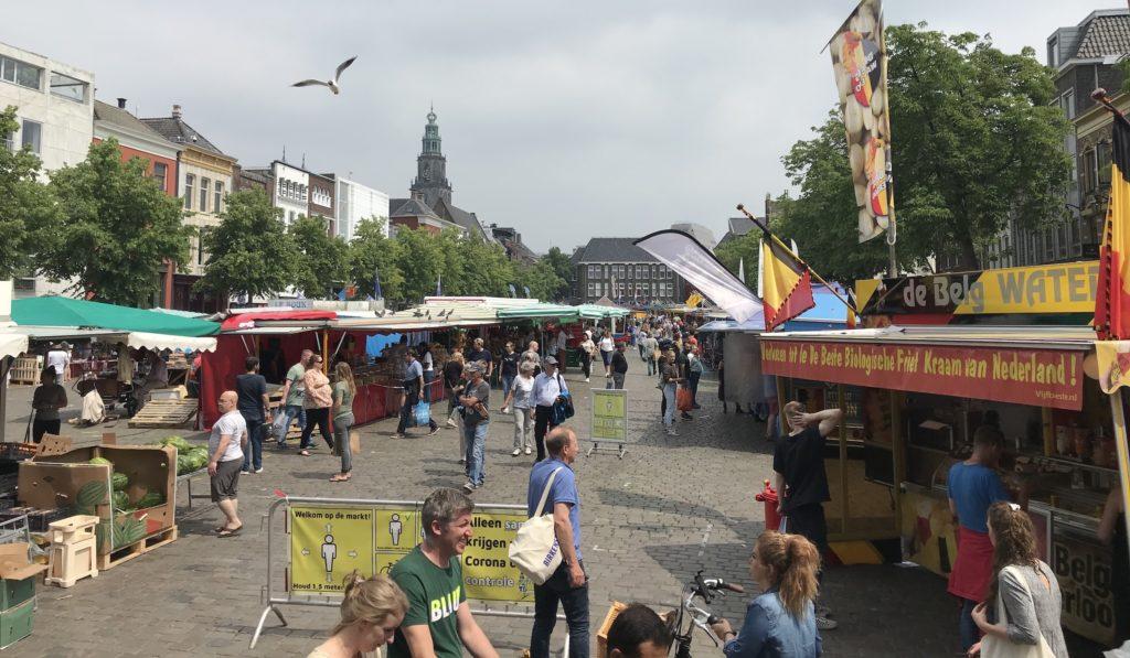 Groningen - Markt - Vismarkt - 2020
