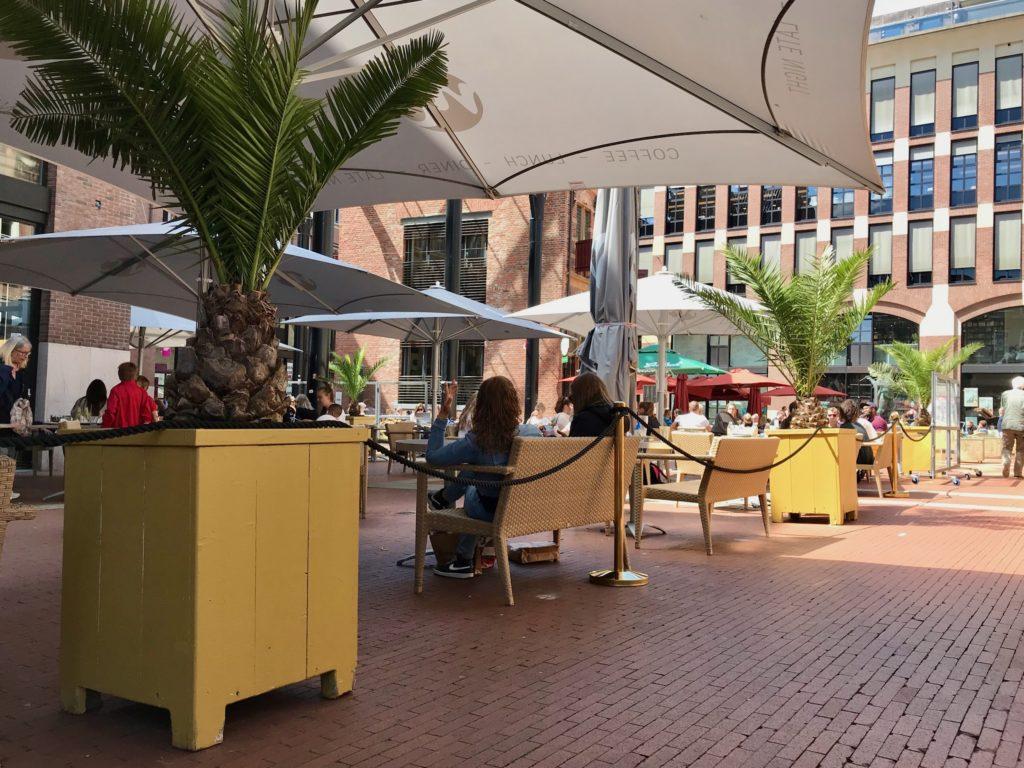 Waagplein - Terasse - Sommer 2020
